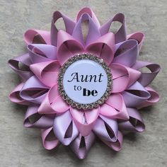 Aunt Gift Aunt to Be Gift New Aunt Gift Pink and Purple