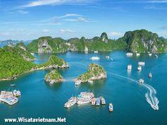 Wisata di Halong Bay - Vietnam