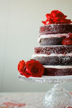 Romantic and Wintry Red Velvet Love, Jessica Watson Photography, Florals Designs by Jessi