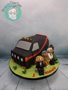 The A team cake - Cake by DeOuweTaart