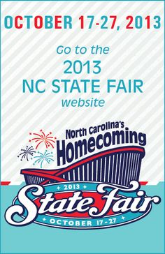 2013 North Carolina State Fair, 17-27 October 2013
