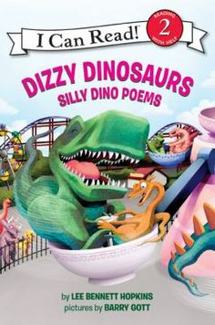 Collects humorous poems about dinosaurs, both real and fictional, including the muddy Triceratops, the pilot Pterodactyl, and the dancing Sauropods.
