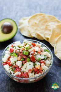 Ceviche de pescado mexicano. Receta de Cuaresma | cocinamuyfacil.com