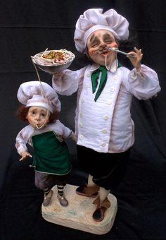 B.SENIORS - UN DELIZIOSO ASSAGGIO DI JELENA MIHAILOVA Dollhouse Dolls, Miniature Dolls, Dollhouse Miniatures, Old Folks, Tiny Dolls, Effigy, Cold Porcelain, Little People, Beautiful Dolls