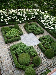Lovely small garden