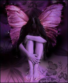 Purple Fairy | #fairy #fairies #purplefairy