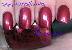 "OPI - Colorcopia Collection ~ 20  Years of Color Summer/2009 - Copper Mountain Copper (Originally from Fall/Winter 1995 ""Winter Resort"" Collection)"