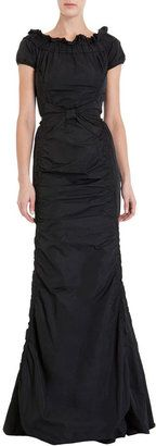 ShopStyle: Nina Ricci Bow Detail Gown