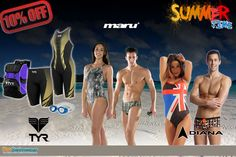 "Maru NEW range at ProSwimwear! http://www.proswimwear.co.uk/brands/maru-swimwear/maru-autumn-winter-range-2013.html  Last chance to get 10% off for Maru products at ProSwimwear!  Enter "" summer4 "" at checkout to get 10% for Maru, TYR and Diana products."