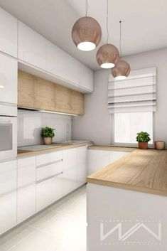 modern unique lighting pieces to enhance the interior design of your kitchen. - -Use modern unique lighting pieces to enhance the interior design of your kitchen. - - smart ways to make the most of a small kitchen ideas 27 Lighting world! Kitchen Room Design, Luxury Kitchen Design, Kitchen Rug, Home Decor Kitchen, Interior Design Kitchen, Kitchen Ideas, Kitchen Inspiration, Color Interior, Kitchen Designs
