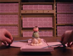How To Make The Starring Pastry From Wes Anderson's New Movie: The team behind The Grand Budapest Hotel let us in on the fiercely guarded recipe for Mendl's Courtesan au Chocolat. Grand Budapest Hotel, Grande Hotel, Wes Anderson Movies, Festa Party, Oscar Party, Let Them Eat Cake, New Movies, Just Desserts, Sweet Desserts