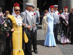 CHULAPAS Y CHULAPOS EN LAS FIESTAS DE SAN ISIDRO (Madrid)
