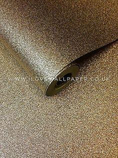 I Love Wallpaper™ Glamour Real Glitter Wallpaper Gold - I Love Wallpaper™ Glamour from I love wallpaper UK Gold Sparkle Wallpaper, Glitter Wallpaper Bedroom, Plain Wallpaper, Gold Wallpaper, Textured Wallpaper, Glitter Floor, Gold Glitter, Butterfly Room, Decoration