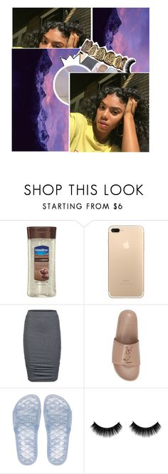 """imaa lock the door ♡"" by dxdddy ❤ liked on Polyvore featuring Vaseline, ONLY, B. Ella, Yves Saint Laurent and Puma"