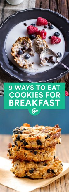 There are many strategies for getting up on the right side of the bed, and here's one of our... #Healthy #Breakfast #Cookies http://greatist.com/eat/healthy-breakfast-cookies