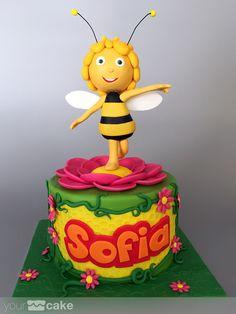 Your Cake. Tarta Abeja Maya