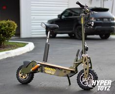 Top 3 Benefits of using off Road Scooter Off Road Scooter, E Scooter, Best Electric Scooter, Electric Cars, Wild Photography, Motor Speed, Wooden Decks, Led Headlights, Army Green