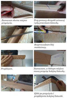 DIY jak zrobić gzyms do szafy
