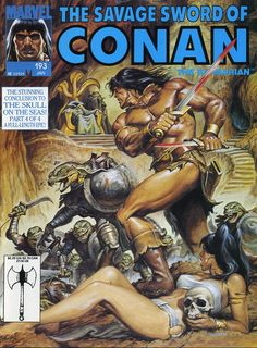 Image result for Savage Sword of Conan