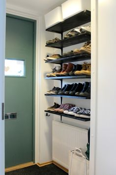 Craft Room Storage, Vestibule, Shoe Cabinet, Mudroom, Future House, Shoe Rack, Shelving, Home Improvement, Entryway