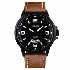 Relógio Skmei Analógico 9115 - Marrom