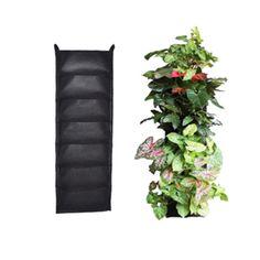 flores de pared jardineras colgantes jardines verticales tapices bolsillos