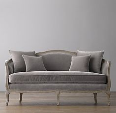 "Love this! 64"" Ondine Salon Bench #interiordesign #furniture"