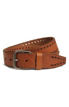 Trask 'Holt' Leather Belt