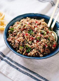 Herbed Quinoa and Pomegranate Salad