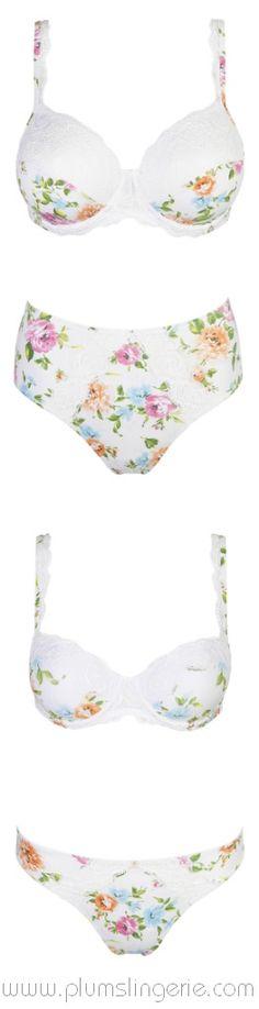 efe0486006 Marie Jo Giardino #mariejo #lingerie #bra #knickers #pattern #floral #