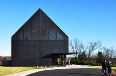 Visitors centre at the Wild Turkey Bourbon Distillery in Kentucky by De Leon & Primmer Architecture Workshop