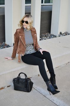 349092bb408 building your wardrobe with classic pieces - striped turtleneck