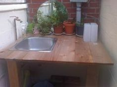 DYI Outdoor Sink