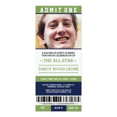 Shop Sports Ticket Bachelor Party Invites created by RenImasa. Bachelor Party Invitations, Graduation Invitations College, Graduation Announcements, Zazzle Invitations, Invites, College Graduation, Graduation Cards, Sports Wedding, Wedding Invitation Design