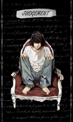NEKOMA, ozzzymandius:     Death Note + Tarot Cards → L