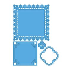 Marianne Design Creatables Dies - Petra's Square Frames LR0234 - 86,00Lt