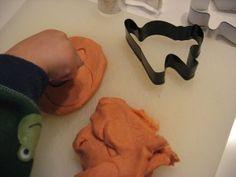 No Cook Pumpkin Pie Playdough recipe - my favorite!