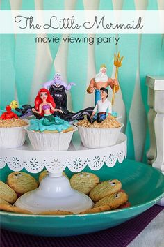 Awesome The Little Mermaid party ideas! Disney Princess #DisneyPrincessPlay #shop #cbias