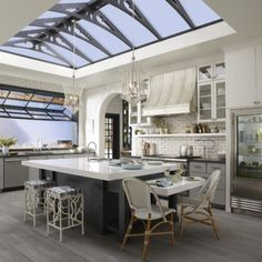 As part of the Silestone Trendsetter series, Theresa Casey designed her Organic Loft kitchen with a vision to create an urban sanctuary. The kitchen design, which incorporates Silestone, Kohler and Benjamin Moore products, infuses traditional and modern i