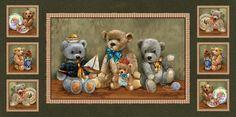 Bear Hugs Panel von NähstübchenUntermDach auf DaWanda.com