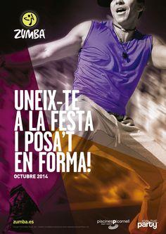 Únete a la fiesta #Zumba en #Picornell #Barcelona
