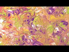 Traditional Art - Acrylic Fluid Painting - Abstract - Psychedelic - Melted Popsicle - YouTube