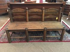 Items similar to Farmhouse Triple Bench on Etsy Antique Farmhouse, Farmhouse Decor, Cottage Office, Foot Of Bed, Victorian Christmas, Fairy Lights, Entryway Tables, Vintage Items, Bench