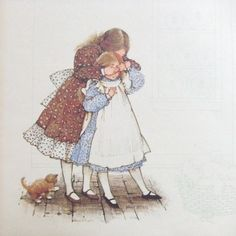 Vintage Holly Hobbie Print Friendship by TextilesandThings, Cheap Hobbies, Hobbies For Men, Hobbies That Make Money, Sarah Kay, Holly Hobbie, Alphonse Mucha, Hobby World, Vintage Artwork, Vintage Pictures