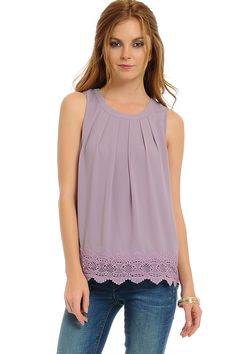 Catch Bliss Boutique - Blakely Top in Lavender, $38.00 (http://www.catchbliss.com/blakely-top-in-lavender/)