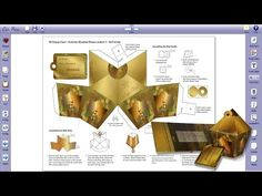 ▶ Personalizing Victorian Lantern Card - Using Edit & Print - YouTube