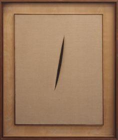Lucio Fontana 'Spatial Concept 'Waiting'', 1960 © Fondazione Lucio Fontana, Milan