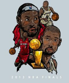 2013 FINALS MIAMI HEAT VS SANANTONIO SPURS