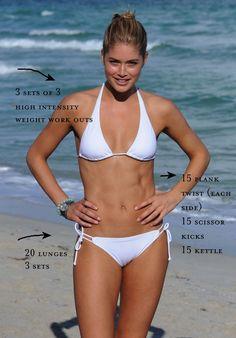 Health   get bikini ready in 3 weeks