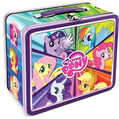 """My Little Pony Lunch Box 